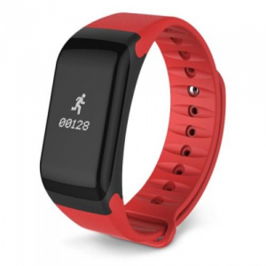 Bratara fitness MoreFIT™ F1 Pro , BT 4.0, rezistenta la apa, puls, nivel oxigen, tensiune, Android, iOS, intrare apeluri, vibratii, rosu [1]