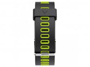 Bratara fitness MoreFIT™ F4 Pro Plus, IP68 submersibila, puls dinamic, tensiune, vremea, altitudine, UV index, Android, iOS, notificari, negru/verde [3]