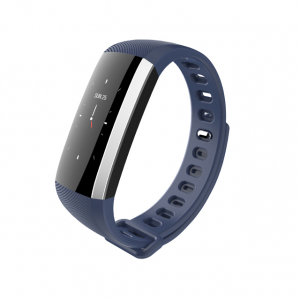 Bratara fitness MoreFIT™ G19, ecran color TFT, IP67, puls dinamic 24/24h ,oxigen ,tensiune, nivel oboseala, monitorizare somn,  remote camera, stand-by 21 zile, Android, iOS, notificari, albastru [1]