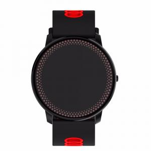 Bratara fitness MoreFIT™ GearFit CF007 Pro Plus, Ecran Color, tensiune, puls dinamic, vremea, oxygen, stand-by indelungat, Android, iOS, notificari, negru/rosu4