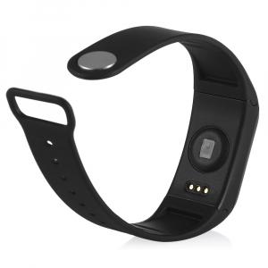 Bratara fitness MoreFIT™ H10 Plus GetFit 3.0, BT 4.0, rezistenta la apa, monitorizare puls, nivel oxigen sange, Android, iOS, intrare apeluri, vibratii, negru2