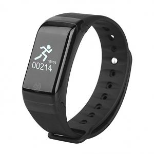 Bratara fitness MoreFIT™ H10 Plus GetFit 3.0, BT 4.0, rezistenta la apa, monitorizare puls, nivel oxigen sange, Android, iOS, intrare apeluri, vibratii, negru0