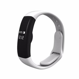 Bratara fitness MoreFIT™ H30 Plus, BT 4.0, rezistenta la apa, monitorizare dinamica puls, Android, iOS, intrari apeluri, alb2