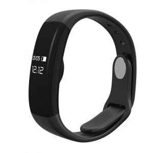 Bratara fitness MoreFIT™ H30 Plus, BT 4.0, rezistenta la apa, monitorizare dinamica puls, Android, iOS, intrari apeluri, negru2