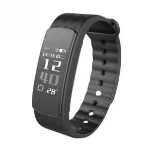 Bratara fitness MoreFIT™ i3 HR Pro, Control prin gesturi, rezistenta la apa ip67 , monitorizare puls si somn, cronometru, notificari apeluri si sms, Android, iOS, vibratii, negru0