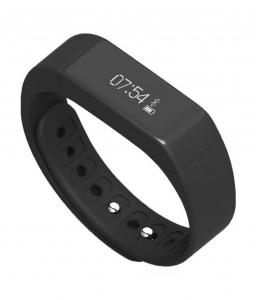 Bratara fitness MoreFIT™ i5+ , BT 4.0 , rezistenta la apa IP65, notificare sedentarism , apeluri ,sms si aplicatii, Android, iOS, vibratii, negru2