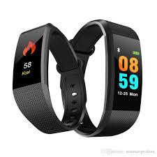 Bratara fitness MoreFIT™ i9,  BT 4.0, Puls, Tensiune, Nivel Oboseala, Pedometru, Calorii, Distanta, Monitorizare Somn, Rezistenta la Apa IP68, Android, iOS, Notificari, Negru [1]