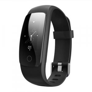 Bratara fitness MoreFIT™ ID107 HR Pro, GPS pentru alergat, alerta vreme , rezistenta la apa , monitorizare puls, notificari aplicatii, notificari apeluri si sms, respingere apel, control muzica telefo0