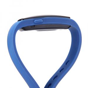 Bratara fitness MoreFIT™ ID107 Pro , BT 4.0 , monitorizare puls si somn , actionare camera smart , cronometru, notificari apeluri si sms, Android, iOS, vibratii, albastru3