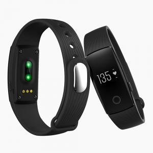 Bratara fitness MoreFIT™ ID107 Pro , BT 4.0 , monitorizare puls si somn , actionare camera smart , cronometru, notificari apeluri si sms, Android, iOS, vibratii, negru [5]