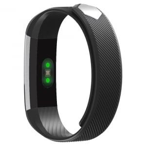 Bratara fitness MoreFIT™ ID115HR Plus, BT 4.0, rezistenta la apa IP67, ritm cardiac, pedometru, remote camera, notificari, Android, iOS, vibratii, negru1