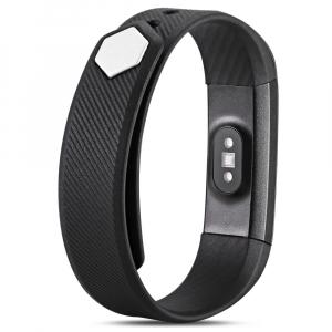 Bratara fitness MoreFIT™ ID115HR Plus, BT 4.0, rezistenta la apa IP67, ritm cardiac, pedometru, remote camera, notificari, Android, iOS, vibratii, negru2