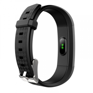 Bratara fitness MoreFIT™ Id115Plus, BT 4.0, Pasi, Distanta, Calorii, Rezistenta la apa IP67, Timp de activitate, Monitorizare Somn, SMS Alert, Puls, Negru2
