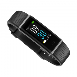 Bratara fitness MoreFIT™ ID130C Pro, LCD color, puls dinamic 24h, 14 moduri sport, rezistenta la apa ip67, stand-by 10-15 zile, notificari,negru5