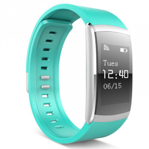 Bratara fitness MoreFIT™ iWown I6 Pro, Display full touch, 7 moduri sport, puls dinamic 24h, rezistenta la apa ip67, notificari, verde [2]