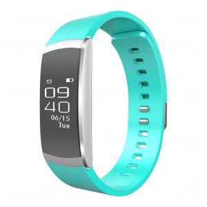 Bratara fitness MoreFIT™ iWown I6 Pro, Display full touch, 7 moduri sport, puls dinamic 24h, rezistenta la apa ip67, notificari, verde [0]