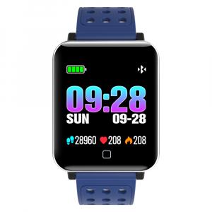 Bratara fitness MoreFIT™ M19, BT 4.0, Display color fulltouch, Puls dinamic, Oxigen, 8 Moduri sport, pedometru, Rezistenta la Apa IP67, notificare apel/mesaje/aplicatii, stand-by 15 zile, Android/iOS,1