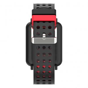 Bratara fitness MoreFIT™ M19, BT 4.0, Display color fulltouch, Puls dinamic, Oxigen, 8 Moduri sport, pedometru, Rezistenta la Apa IP67, notificare apel/mesaje/aplicatii, stand-by 15 zile, Android/iOS, [1]