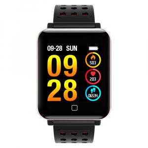 Bratara fitness MoreFIT™ M19, BT 4.0, Display color fulltouch, Puls dinamic, Oxigen, 8 Moduri sport, pedometru, Rezistenta la Apa IP67, notificare apel/mesaje/aplicatii, stand-by 15 zile, Android/iOS, [3]