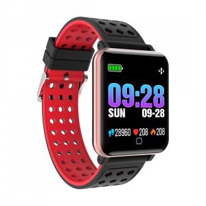 Bratara fitness MoreFIT™ M19, BT 4.0, Display color fulltouch, Puls dinamic, Oxigen, 8 Moduri sport, pedometru, Rezistenta la Apa IP67, notificare apel/mesaje/aplicatii, stand-by 15 zile, Android/iOS, [0]
