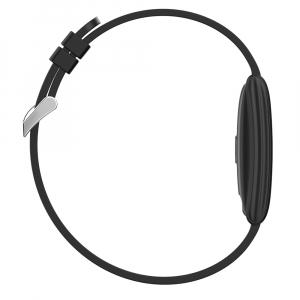 Bratara fitness MoreFIT™ N108 Plus,  BT 4.0, puls, submersibila, tensiune, oxigen, nivel oboseala, anti zgarieturi, Android, iOS, notificari, remote camera, argintiu [3]