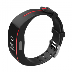 Bratara fitness MoreFIT™ P4 Pro , ritm cardiac ,PPG+EKG , tensiunea arteriala, BT 4.0, rezistenta la apa, monitorizare puls, nivel oxigen sange, Android, iOS, intrare apeluri/notificari , vibratii, ne1