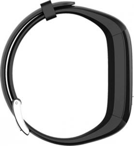 Bratara fitness MoreFIT™ P6 Pro, BT 4.0, rezistenta la apa, notificare apeluri mesaje si aplicatii, Android, iOS, 10 zile stand by, vibratii, negru2