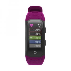 Bratara fitness MoreFIT™ S908s Premium Color, GPS, multi sport, rezistent la apa IP68, puls dinamic, ultra long stand by, Android, iOS, notificari, mov1