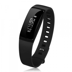 Bratara fitness MoreFIT™ V07+ Pro , BT 4.0, rezistenta la apa ip67, monitorizare puls dinamic, Android, iOS, intrare apeluri, sms, vibratii, negru0