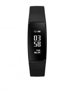 Bratara fitness MoreFIT™ V07+ Pro , BT 4.0, rezistenta la apa ip67, monitorizare puls dinamic, Android, iOS, intrare apeluri, sms, vibratii, negru4
