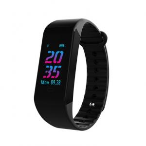 Bratara fitness MoreFIT™ W6S Smart, schimbare culori/format display, stand by 25 zile, rezistenta la apa ip67, monitorizare puls dinamic, Android, iOS, intrare apeluri, sms, vibratii, negru0