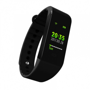 Bratara fitness MoreFIT™ W6S Smart, schimbare culori/format display, stand by 25 zile, rezistenta la apa ip67, monitorizare puls dinamic, Android, iOS, intrare apeluri, sms, vibratii, negru1