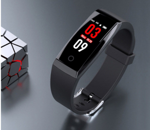 Bratara fitness MoreFIT™ W8,  BT 4.0, Puls, Afisare Apelant, Cronometru, Nivel oboseala, Android, iOS, Notificari, Stand-By 20 zile, Negru4