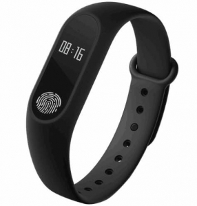 Bratara fitness MoreFIT™ XMBand 2 , BT 4.0, heart rate, rezistenta apa, notificari apeluri, super usoara, stand by 10 zile, negru0