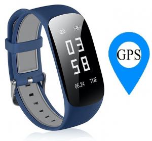 Bratara fitness MoreFIT™ Z17, GPS, marcare traseu pe harta,  IP67, ritm cardiac, calorii, nivel oboseala, notificare apleuri/sms/respingere apel, monitorizare somn, remote camera, cautare telefon, sta [0]