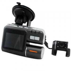 Camera auto DVR FreeWay™ I1000, camera dubla, FullHD1080p@25Fps,G-senzor, lentile Samsung, Super Night Vision, Suport prindere , 2 inch TFT, unghi de filmare 140 grade,Detectare miscare, inregistra [2]