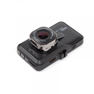Camera auto DVR FreeWay™ T636, FullHD 1080p@25Fps, camera dubla, G-senzor, lentile Sony , super night vision, suport prindere, 3 inch LCD, unghi de filmare 170 grade, inregistrare ciclica ( bucla , lo [1]