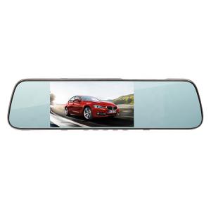 Camera Auto Oglinda Smart TouchScreen DVR FreeWay™ L1005, camera dubla, 2MP 1080p FullHD, G-senzor, lentile Sony , super night vision, suport prindere , 5 inch HD LCD, unghi de filmare 140 grade, inre6
