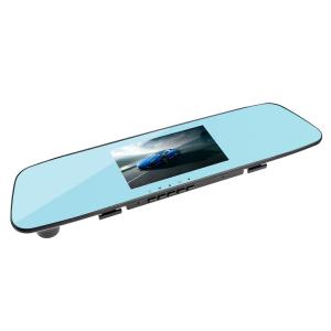 Camera Auto Oglinda TouchScreen DVR L505C, camera dubla, 1080p FullHD, G-senzor, suport prindere , 4.3 inch HD LCD, unghi de filmare 140 grade, inregistrare ciclica ( bucla ), negru2