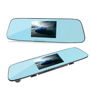 Camera Auto Oglinda TouchScreen DVR L505C, camera dubla, 1080p FullHD, G-senzor, suport prindere , 4.3 inch HD LCD, unghi de filmare 140 grade, inregistrare ciclica ( bucla ), negru6