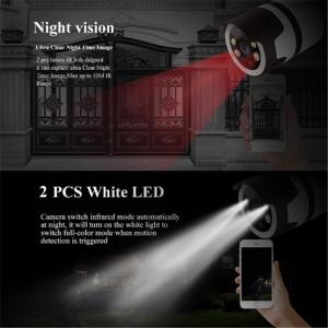 Camera de supraveghere IP WIFI BabyToy™ AG03 , Exterior , Conectare Telefon / PC, night vision color, rezistenta la apa, FullHD 1920*1080, camera 2.0 MP, senzor miscare, alb [4]