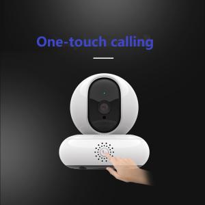 Camera de supraveghere IP WIFI BabyToy™ AG30 , Full HD 2MP, Buton apelare rapida/telefon, Night vision, Conectare telefon / PC , Rotire automata, rezolutie 1920*1080 , senzor miscare, alb1
