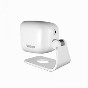 Camera de supraveghere IP WIFI Sricam™ SH029 Plus SriHome Exterior , UltraHD 3MP 2048x1536, Conectare Telefon / PC , night vision , rezistenta la apa, senzor miscare, alb [2]