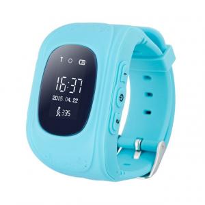 Ceas smartwatch cu GPS copii MoreFIT™ Q50, functie telefon, monitorizare GPS in timp real , Wi-FI, buton SOS si monitorizare spion, albastru +SIM prepay cadou0