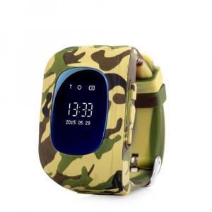 Ceas smartwatch cu GPS copii MoreFIT™ Q50 , functie telefon, monitorizare GPS in timp real , Wi-FI, buton SOS si monitorizare spion, galben camo +SIM prepay cadou [0]