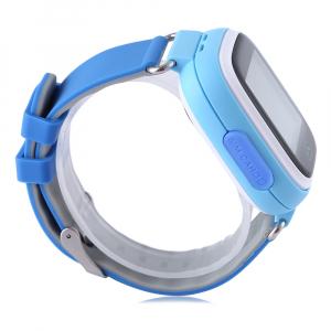 "Ceas smartwatch GPS copii MoreFIT™ GW100 Plus , cu GPS si functie telefon, Wi-Fi, ecran 1.22"" touchscreen, Bluetooth, tripla pozitionare, Buton SOS, vibratii, Albastru + SIM prepay cadou3"