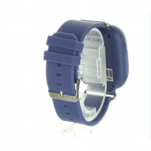 "Ceas smartwatch GPS copii MoreFIT™ GW100 Plus , cu GPS si functie telefon, Wi-Fi, ecran 1.22"" touchscreen, Bluetooth, tripla pozitionare, Buton SOS, vibratii, Bleumarin + SIM prepay cadou [3]"