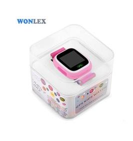 "Ceas smartwatch GPS copii MoreFIT™ GW100 Plus , cu GPS si functie telefon, Wi-Fi, ecran 1.22"" touchscreen, Bluetooth, tripla pozitionare, Buton SOS, vibratii, Roz + SIM prepay cadou4"
