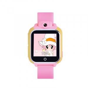 "Ceas smartwatch GPS copii MoreFIT™ GW1000 3G Pro , GPS, camera 2MP, Wi-FI si functie telefon, ecran touchscreen 1.54"", buton SOS, Roz + SIM prepay cadou3"