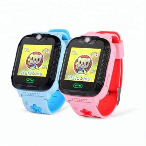 "Ceas smartwatch GPS copii MoreFIT™ GW2000 3G Pro, cu GPS si functie telefon, camera 2MP, WiFi, ecran touchscreen 1.54"", monitorizare spion si buton SOS, albastru + SIM prepay cadou2"